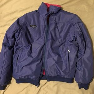 Retro Colombia vintage puffer jacket